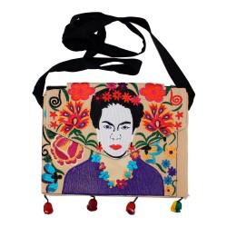 Tasche Frida Kahlo sand