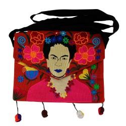 Tasche Frida Kahlo hell braun