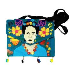 Tasche Frida Kahlo aqua