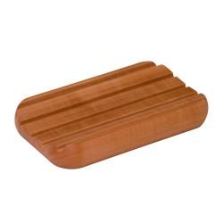 Seifenunterlage aus Birnbaumholz