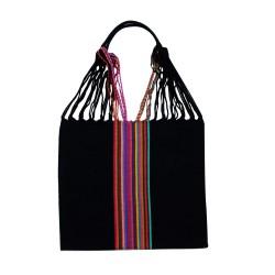 Einkaufstasche Boho Palmira hangewebt
