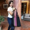 Einkaufstasche Boho Palmira handgewebt