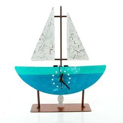 Standuhr Segelboot