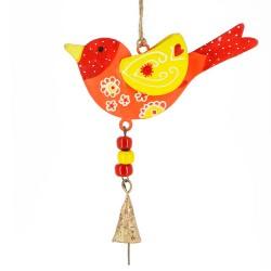 Deko Anhänger - Vogel Frühling