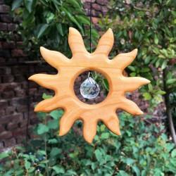 Fensterdeko Sonne 12 cm