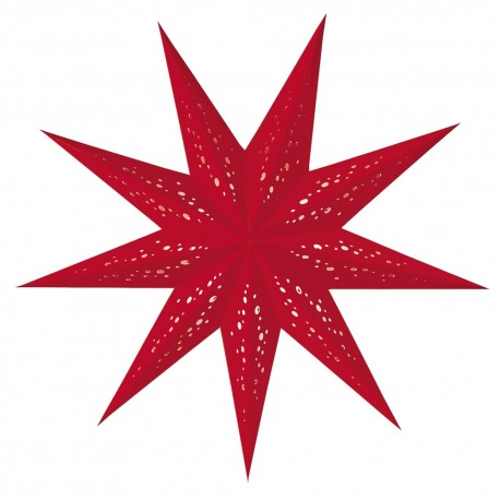 Weihnachtssterne - Geeta red/rot - starlightz