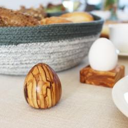 Salzstreuer Ei-Form aus Holz