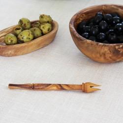 Olivenpiker aus Olivenholz