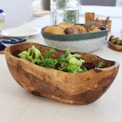 Obschale aus Olivenholz 27cm oval
