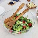 Salatbesteck Mediterran aus Olivenholz