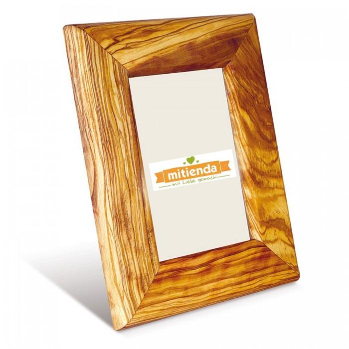 Bilderrahmen aus Olivenholz | 13,5cm x 9cm Fotorahmen