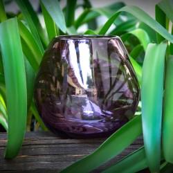 Teelichthalter lila, Blumenvase klein