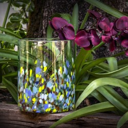 Dekovase aqua, Blumenvase