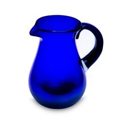 Karaffe Birne blau