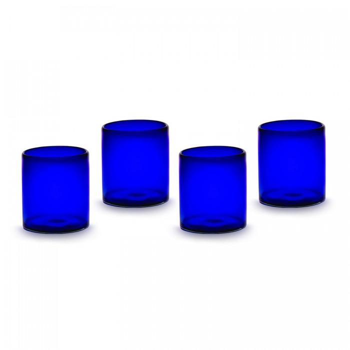 Gläser 4er Set Cobalto blau
