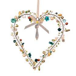 Decoración de la ventana del anillo de perlas 12cm | Decoración de la ventana de colores