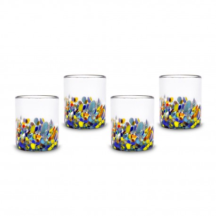 Gläser 4er Set Milky Confetti