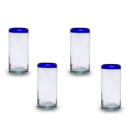 Gläser groß 4er Set | Mundgeblasenes Glas