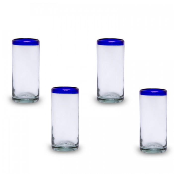 Gläser groß 4er Set   Mundgeblasenes Glas