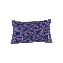 Handgewebtes Kissen Belen lila