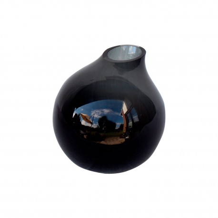Vase Monaco grey H14 D15
