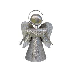 Engel silber 20cm | Schutzengel