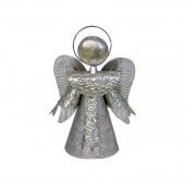 Engel silber 20cm , Schutzengel