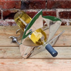 "Weinflaschenhalter aus Zinn ""Cuadros"""