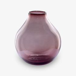 """Deko, Vase, Kerzenhalter, Glas und Eisen """"Capelo"""""""