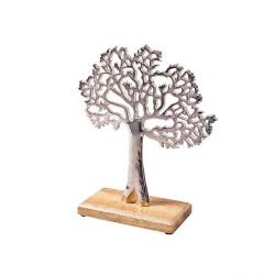Alu Baum 26,5cm Weihnachtsdeko