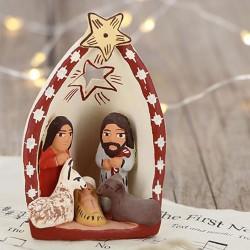 Krippe STERNENHÖHLE, Weihnachtsdeko