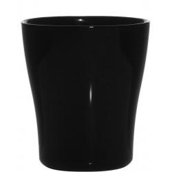 Deko Vase oder Windlicht black Bonny