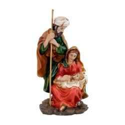 Krippenfiguren Heilige Familie, Krippenblock