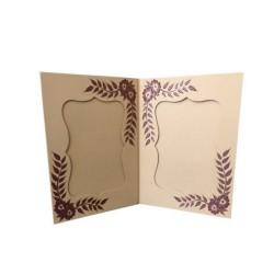 Bilderrahmen Doppel aus handgeschöpftem Papier
