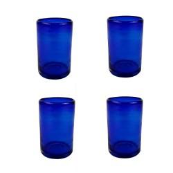 Gläser 4er Set kobaltblau