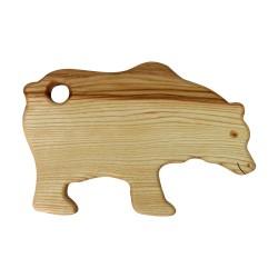 Frühstücksbrettchen Tiermotiv Bär