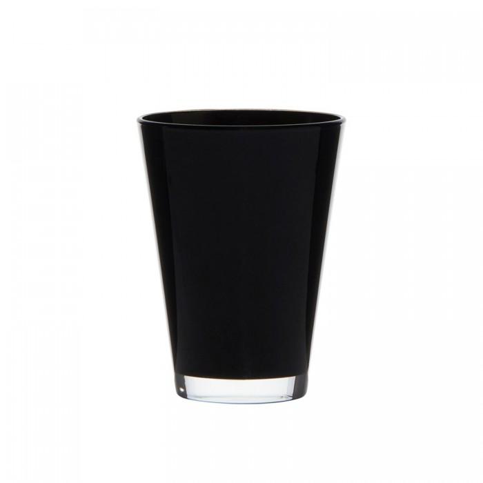 Deko Vase oder Windlicht black Conner