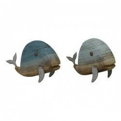 Wal zum Aufstellen, Deko aus Holz