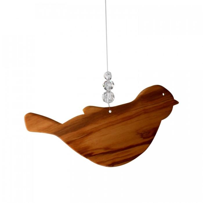 Fensterdeko Vogel mit 3 Perlen, Mobile