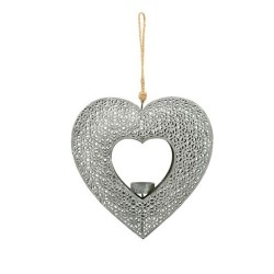Dekohänger Herz aus Metall