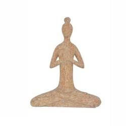 Yoga Skulptur Frau Artisanal