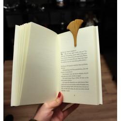 Lesezeichen Ginkgoblatt