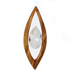 Fensterdeko aus Holz | Fenster Deko Kristall
