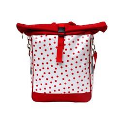Fahrradtasche, Einzeltasche Lunares weiß