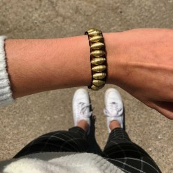 Armband schwarz - Aguila Huichol | Schmuck