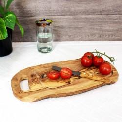 Steakbrett 38 cm aus Olivenholz