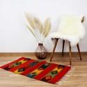 Vintage Teppich San Antonio, Wollteppich mit Naturfarben