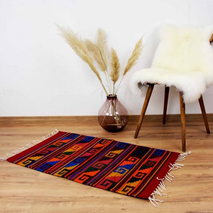 Teppich Vintage Naturfarben - Santa Monica aus Wolle