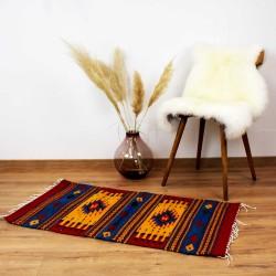 Teppich Vintage  aus Wolle und Naturfarben - San Cristobal