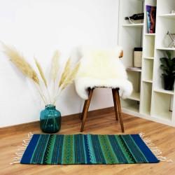 Teppich Vintage  Flor de Oaxaca aus Wolle und Naturfarben
